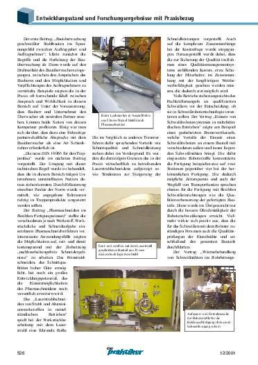 Ausgabe 12 (2001) Seite 526