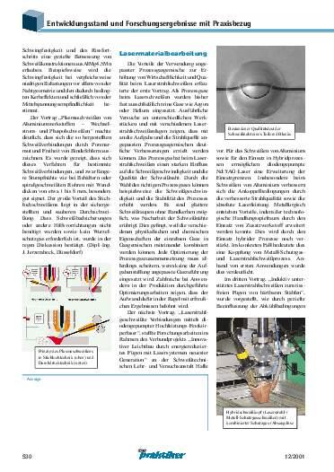 Ausgabe 12 (2001) Seite 530