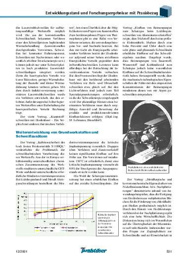 Ausgabe 12 (2001) Seite 531