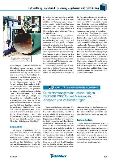 Ausgabe 12 (2001) Seite 535