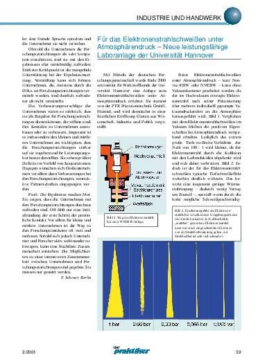 Ausgabe 2 (2001) Seite 39
