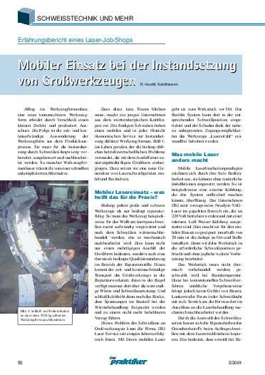 Ausgabe 2 (2001) Seite 50