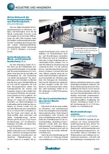 Ausgabe 2 (2001) Seite 70