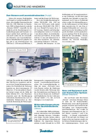 Ausgabe 2 (2001) Seite 72