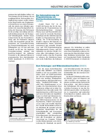 Ausgabe 2 (2001) Seite 75