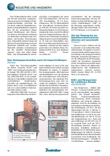 Ausgabe 2 (2001) Seite 76
