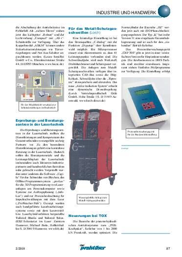 Ausgabe 2 (2001) Seite 87