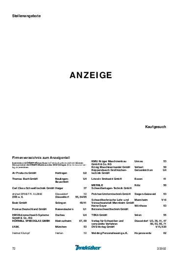 Ausgabe 2 (2002) Seite 72
