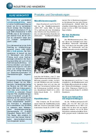 Ausgabe 3 (2001) Seite 102