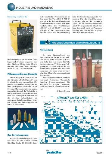 Ausgabe 3 (2001) Seite 110