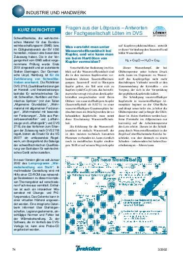 Ausgabe 3 (2002) Seite 74