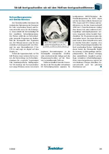 Ausgabe 3 (2002) Seite 85