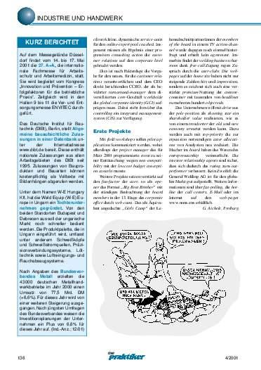 Ausgabe 4 (2001) Seite 136