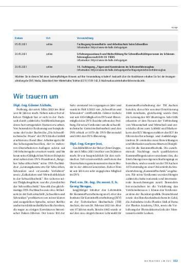 Ausgabe 4 (2021) Seite 153