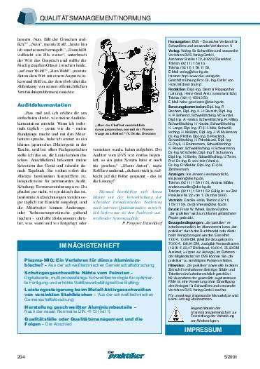 Ausgabe 5 (2001) Seite 204