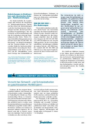 Ausgabe 6 (2001) Seite 235