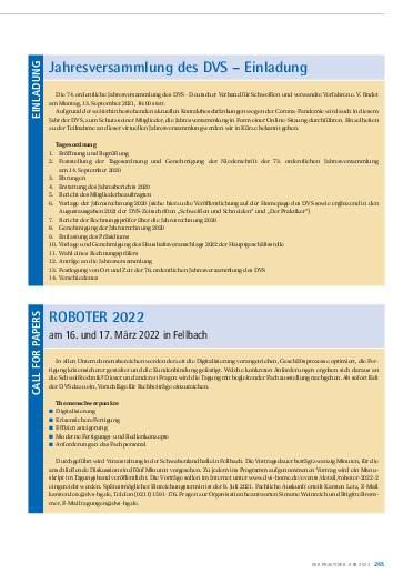 Ausgabe 6 (2021) Seite 265