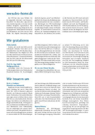 Ausgabe 6 (2021) Seite 266