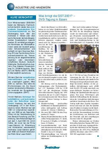 Ausgabe 7 (2001) Seite 248