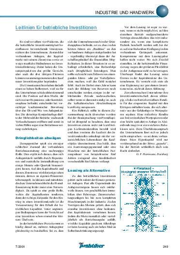 Ausgabe 7 (2001) Seite 249