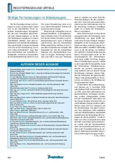 Ausgabe 7 (2001) Seite 262