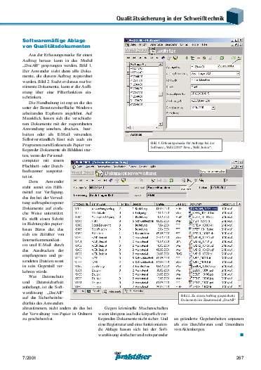 Ausgabe 7 (2001) Seite 267