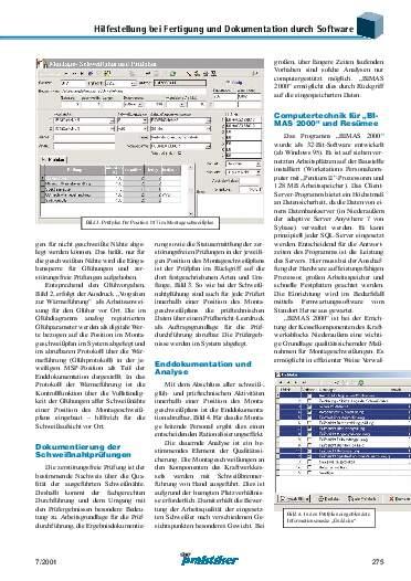 Ausgabe 7 (2001) Seite 275
