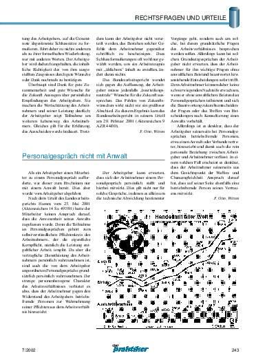 Ausgabe 7 (2002) Seite 243