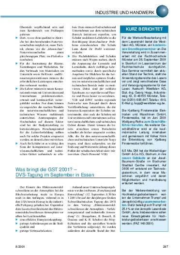 Ausgabe 8 (2001) Seite 287