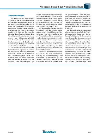Ausgabe 8 (2001) Seite 295