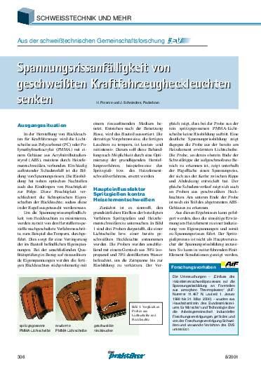 Ausgabe 8 (2001) Seite 306