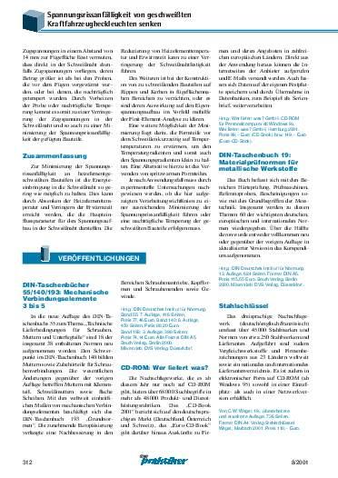 Ausgabe 8 (2001) Seite 312