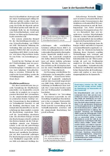 Ausgabe 8 (2001) Seite 317