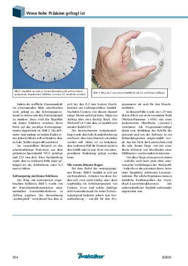 Ausgabe 8 (2001) Seite 324