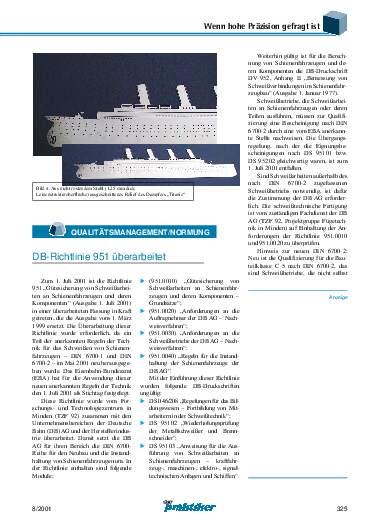 Ausgabe 8 (2001) Seite 325