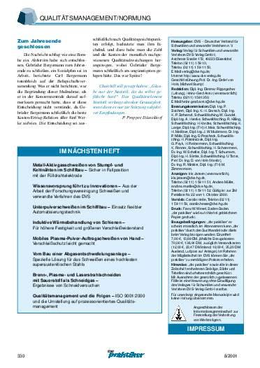Ausgabe 8 (2001) Seite 330