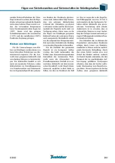 Ausgabe 8 (2002) Seite 269