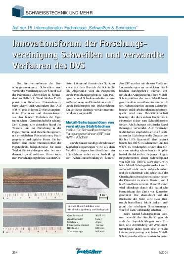 Ausgabe 9 (2001) Seite 354