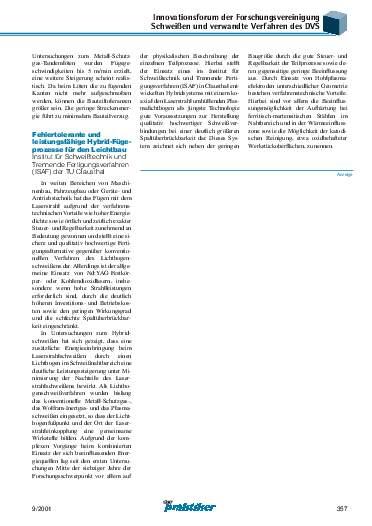 Ausgabe 9 (2001) Seite 357