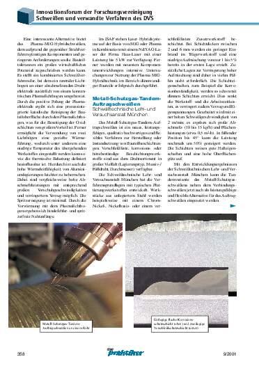 Ausgabe 9 (2001) Seite 358