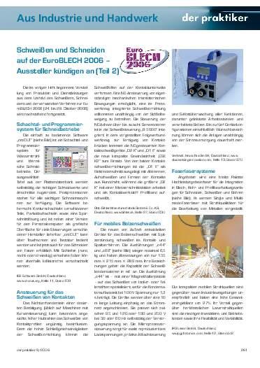 Ausgabe 9 (2006) Seite 261