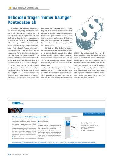 Ausgabe 9 (2021) Seite 450