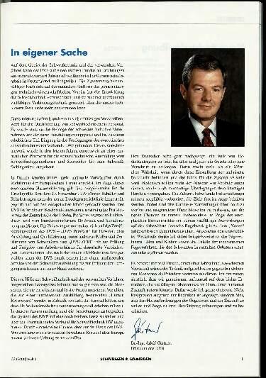 Ausgabe 1 (2000) Seite 1