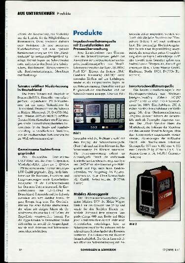 Ausgabe 1 (2000) Seite 10