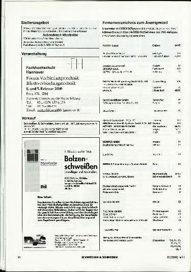 Ausgabe 1 (2000) Seite 60