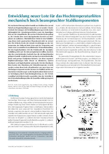 Ausgabe 1 (2005) Seite 25