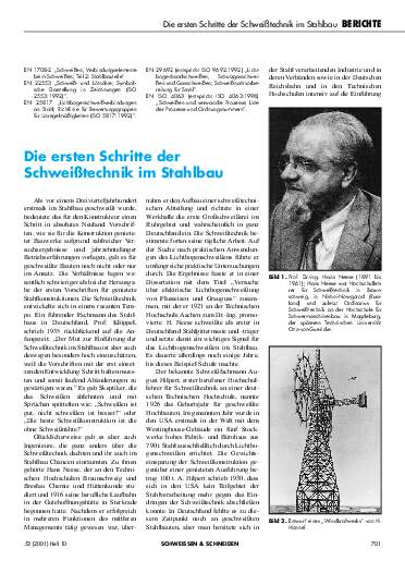 Ausgabe 10 (2001) Seite 701