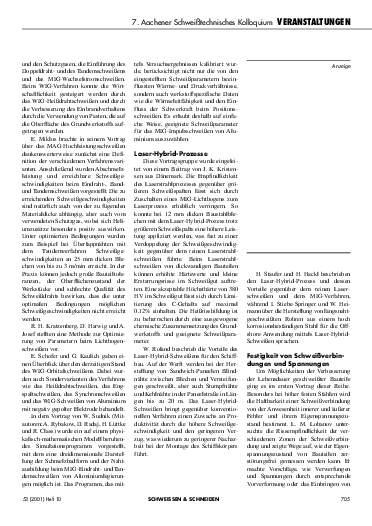 Ausgabe 10 (2001) Seite 705