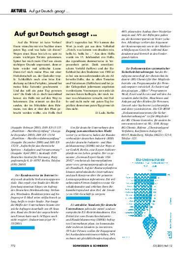 Ausgabe 12 (2001) Seite 772
