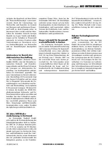 Ausgabe 12 (2001) Seite 775